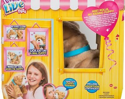 Other Interactive Toys 232 Little Live Pets My Kissing Puppy Rollie Brown Buy It Now Only 54 99 On Ebay Other Little Live Pets Pets Puppies