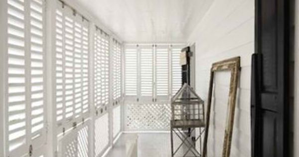 Sunny closed in balcony by india hicks architectural for Closed balcony