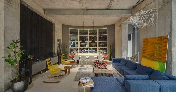 Alter ego diego interior design inspiration concrete for Ego home interior