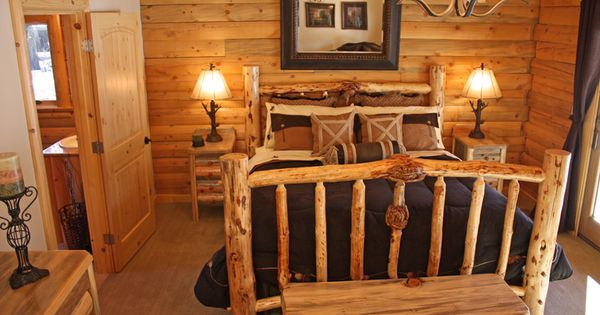 Image Detail For Log Cabin Bedroom Furniture Real Log Style I Like Dreaming Of What My Log Cabin Home Would Look Like Pinterest