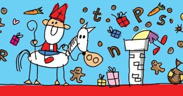 Sinterklaas tekening van babette harms babetteharms pinterest sinterklaas - Jongetje kamer idee ...
