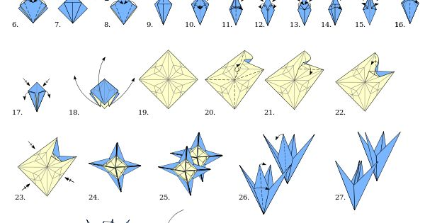 origami flower instructions step by step