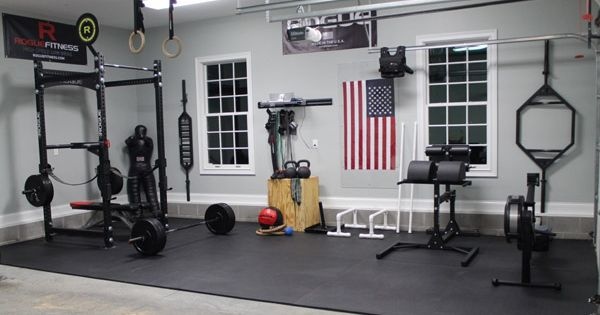 So what's to say? This garage gym has everything. This is a