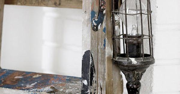 Brocante d co vintage industrielle brocante campagne kitchens pinterest industrieel - Huisbinnenhuisarchitectuur campagne ...