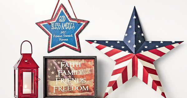 Celebrate The Red White And Blue With Americana Decor Shopko