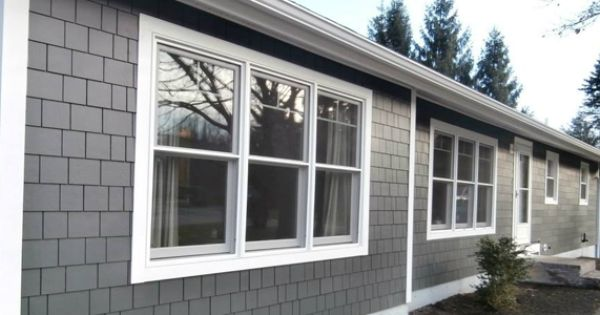 Ranch House Ranch Style Home Vinyl Siding Colors