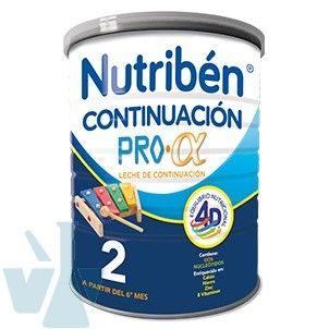 Nutriben Continuacion 800g Sin Aceite De Palma Nutricion