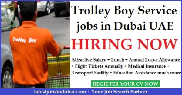 Trolley Boy Jobs In Dubai Airport Service Jobs Dubai Airport