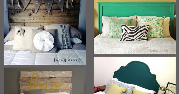 Fun headboard ideas