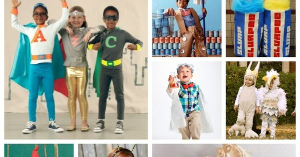 20 diy homemade halloween costumes for kids from for Halloween decorations you can make at home