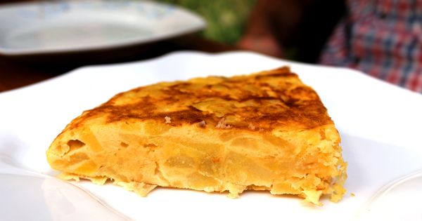 Tortilla with almonds at Tas-K tapas cafe, Los Gigantes, Tenerife ...
