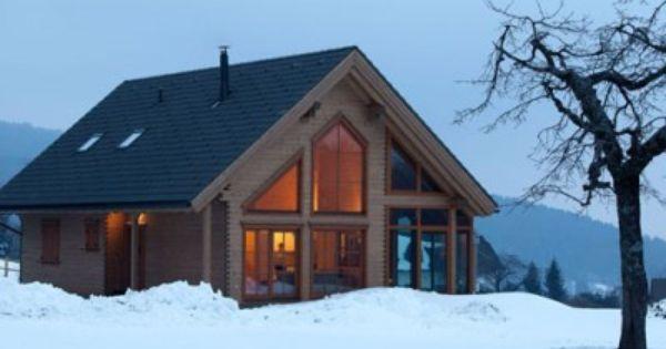 Kanadisches blockhaus modern  Bockhaus - #Einfamilienhaus von Rubner Haus AG | HausXXL #modern ...