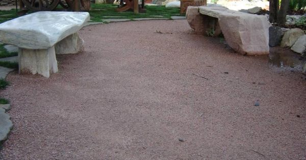 Decomposed Granite Patio Area Project Ideas Pinterest