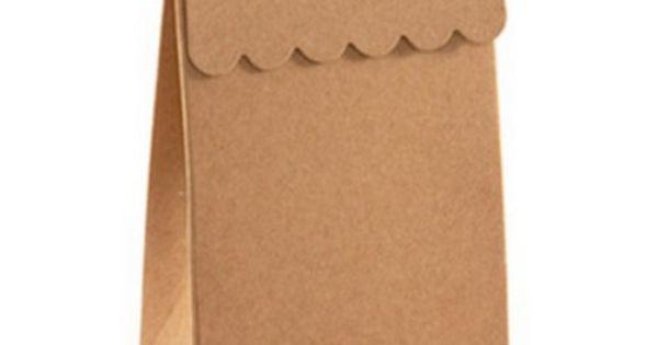 Favor Boxes - Kraft Brown - Large