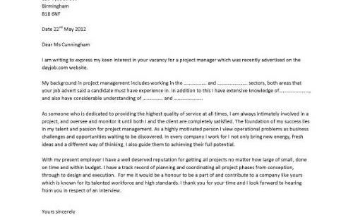 Production manager cover letter resume
