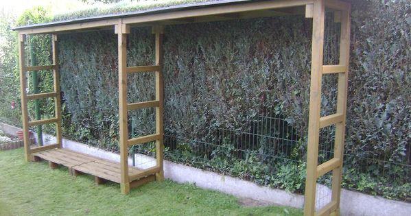 construire un abris bois de chauffage abri a bois pinterest bois de chauffage chauffage. Black Bedroom Furniture Sets. Home Design Ideas
