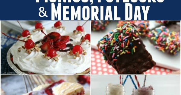 memorial day potluck invitation