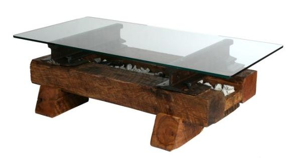 Railroad Tie Coffee Table My Husband Is Already Drawing Up The Plans In His Head For The