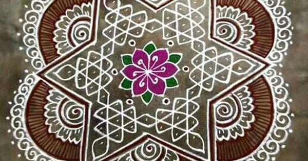 Diwali Rangoli Pinterest: Rangavali-Rangoli-Kolam-Pookalam N Diyas