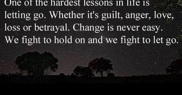 Lessons Learned in Life | One of the hardest lessons in life...