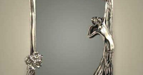 Miroir wmf wmf pinterest art nouveau design and wmf for Miroir art nouveau