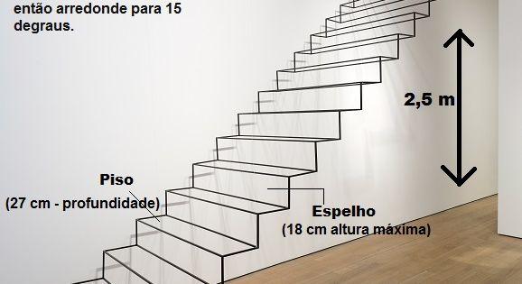 Como construir escada c lculos necess rios escaleras for Formula escalera