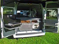 Ford Transit Connect Kevin Hornby Designs Camper Grill Kamp Karavanlar