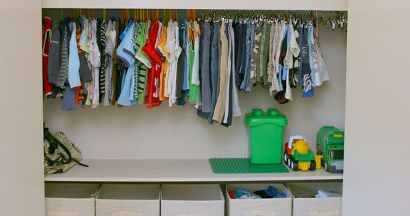 Kids closet organization ideas closet toys and storage Closet toy storage ideas