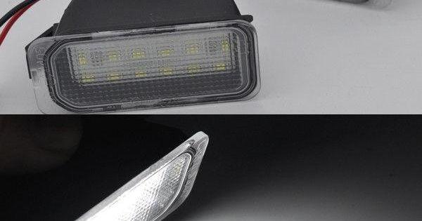 2x Error Free Led License Number Plate Lights For Jaguar Xj 2009 2015 Xf 2007 15 Number Plate Jaguar Xj Lights