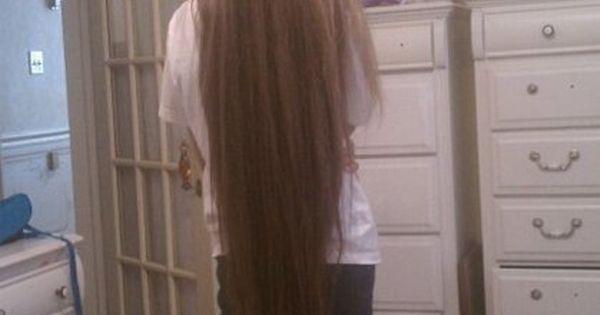 ahhhh pentecostal long hair!!! yes please