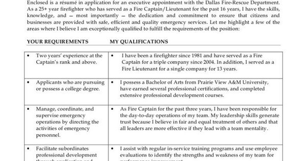 security resume sample information technology examples and samples - fire captain resume