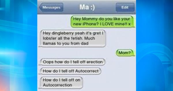 Happy Mother's Day I think. - | - Auto Correct Text Fails