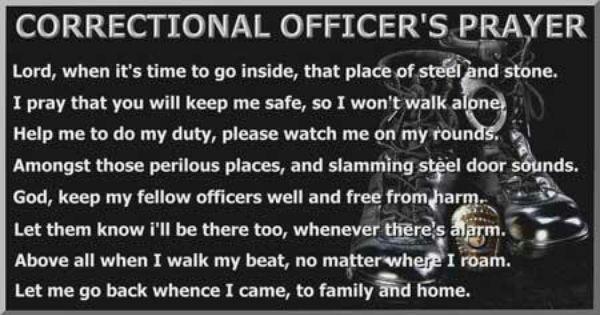 Correctional officer I LOVE MY JOB, I LOVE MY JOB, I LOVE MY JOB