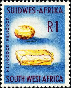 Stamp Heliodor South West Africa Country Motives Mi Na Sw 310 Yt Na Sw 266 Stamp West Africa Africa