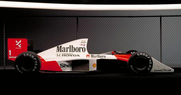McLaren Honda MP4-5 classic cars