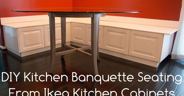 Kitchen Of The Week A Diy Ikea Country Kitchen For Two: DIY Kitchen Banquette Bench Using Ikea Cabinets (Ikea