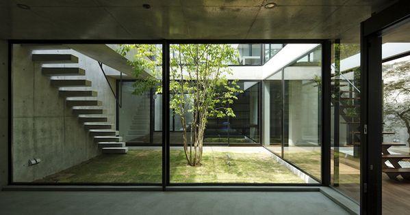 still japanese courtyard house - chiba - apollo