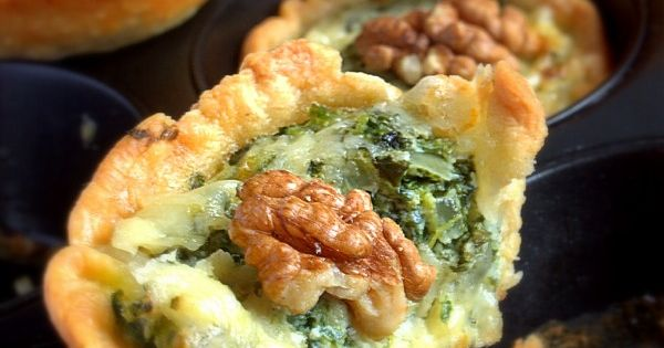 ... kale and cheddar | devour.. | Pinterest | Mini Pies, Kale and Pies