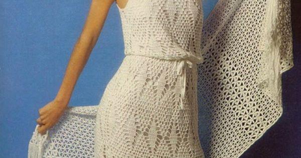 Crochet Dress.In Spanish Crochet - Clothing Pinterest Spanish ...