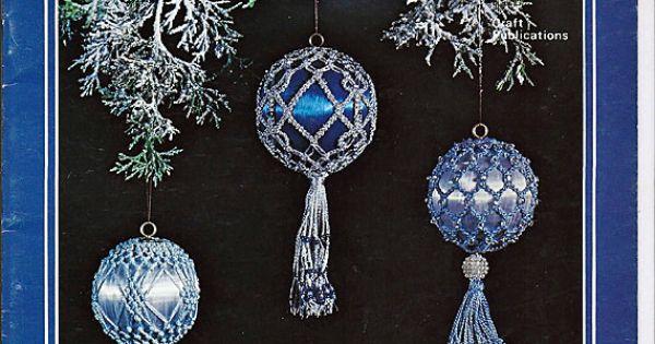 Merry Macrame Christmas Ornaments Macrame Pattern Book