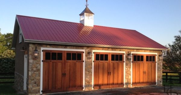 Red Metal Roof With Cupola Patio Pinterest Beautiful
