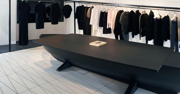 news transitions shoppers into different dimension inside hussein chalayan london boutique