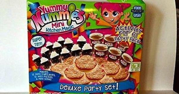Yummy Nummies Mini Kitchen Magic Deluxe Party Set Cooking Baking