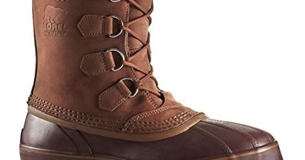 Sorel Caribou Mens Boots - 7.5/Cinnamon-Madder Brown * See this ...