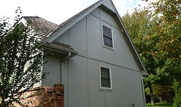 Stucco Panel Siding In Overland Park Ks Panel Siding Stucco Cement Panels