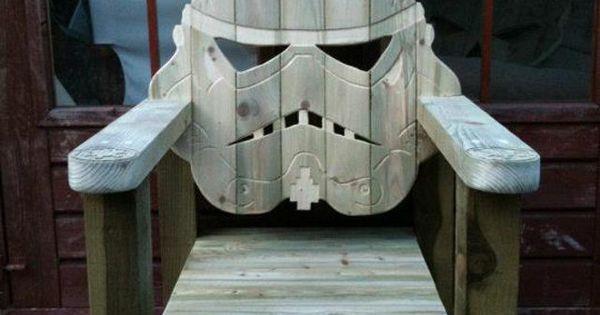 Star Wars adirondack chair