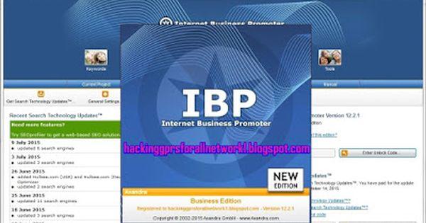 Hackinggprsforallnetwork Internet Business Promoter V 12 2 1