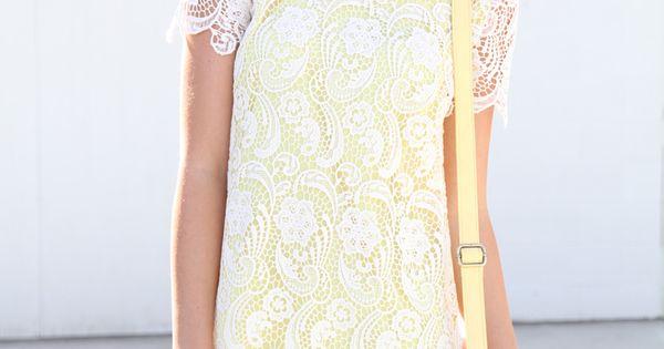 lace overlay + peter pan collar