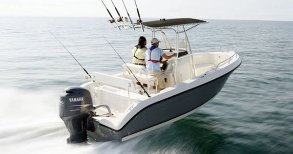 Dream boat center console saltwater fishing boat twin for Best outboard motor for saltwater