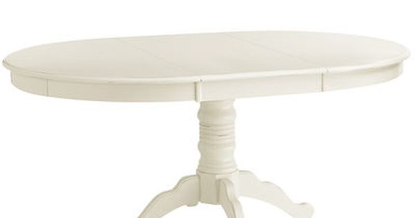 Ronan Extension Antique White Dining Table